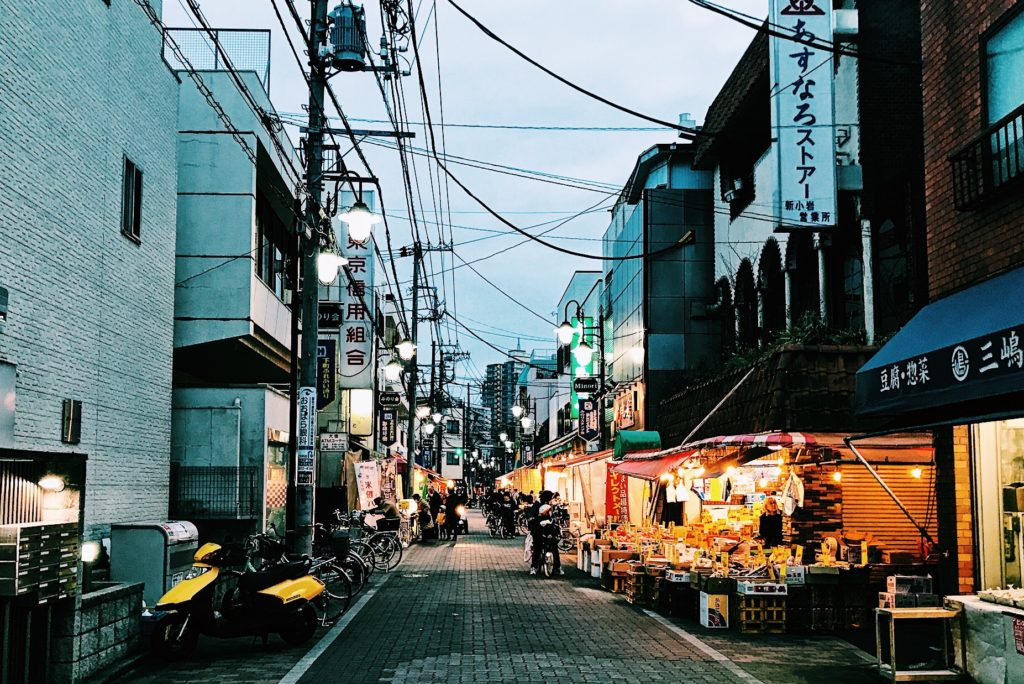 新小岩駅から徒歩10分ほどの住宅街にあるみのり商店街