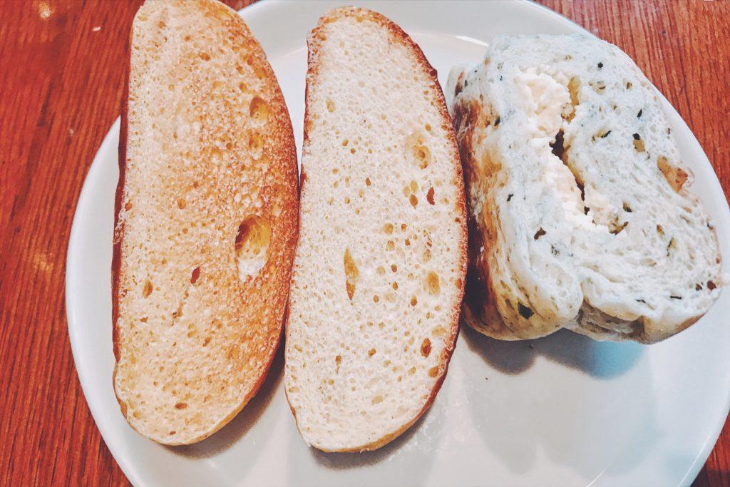 トーストしたパンたち