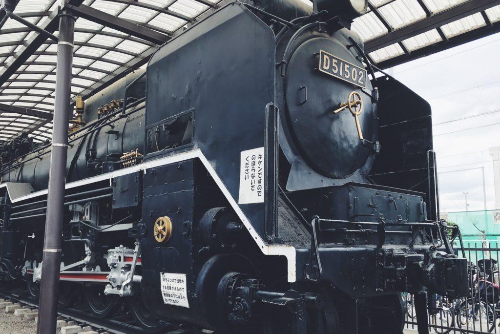 蒸気機関車の遊具の一つとして設置!