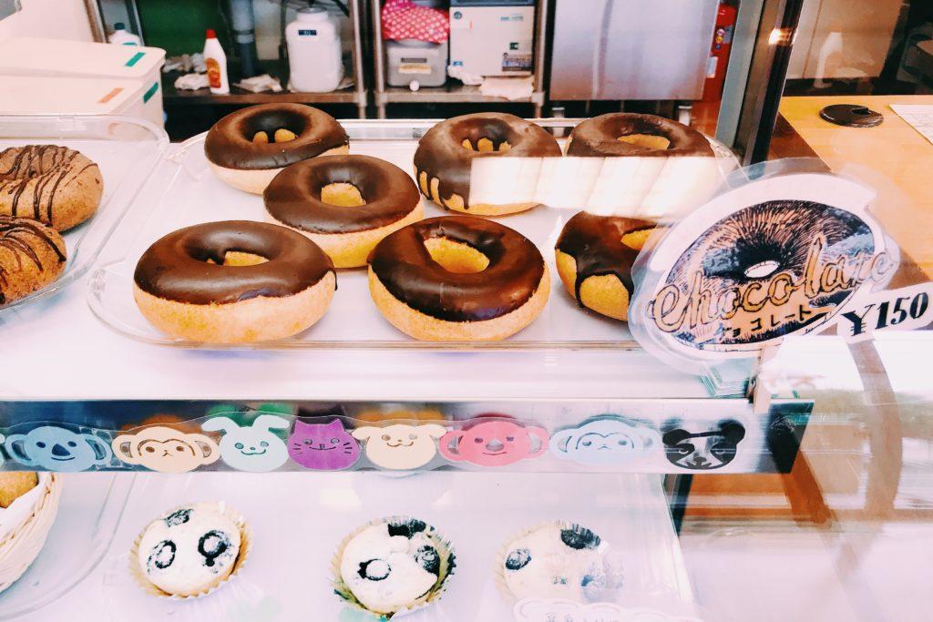 ドーナツは110円からとリーズナブル!